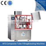 Automatic condensed milk tube filling sealing machine