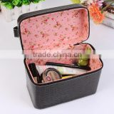 Chinese factories wholesale custom luxurious leather dressing case, han edition fashion beautiful storage box