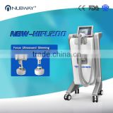 50 / 60Hz 4MHZ Liposonix Machine Body Fat Reduction Waist Local Fat Removal Shaping Hifu Slimming Machine For Weight Loss