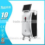 Leg Hair Removal Sanhe CE Marked 808nm Diode Laser Spa Shr Ipl Hair Removal Machine For Skin Tightening Permanent