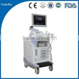Pregnancy baby checking 4D color doppler ultrasound price, Large screen trolley ultrasound for big hospitals