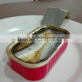 China best cheap high quality canned sardine in vegetable oil with tomato sauce