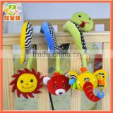 Plush Baby Crib Toy Musical Hanging Toy