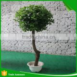 Artificial green banyan ficus trees bonsai plant