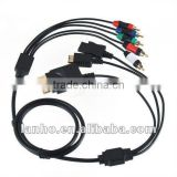 3 in 1 Audio Video AV HDTV Component Cable for PS3 PS2 Wii Xbox 360 Xbox360