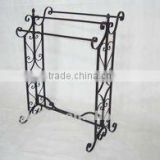 metal 3 tires standing towel rack