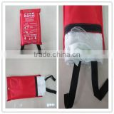 Fire Blanket 1x1m 1.2x1.2m 1.2x1.5m 1.5x1.5m 1.5x1.8m 1.8x1.8m Glass Fibre Powerful Fire Blanket