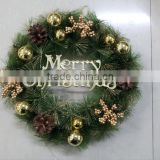 2015 Christmas wreath with good quality and competitive