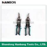 Left Cut Aviation Tin Snips For Cutting Steel Sheet