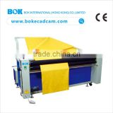 2016 new automatic clothes folding machine with electric-eye automatic edge alignment for shirt garment factory