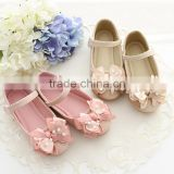 fashion soft girls flat dress baby party kids dance shoes kids flower girl shoe girls dressy shoes