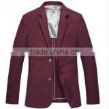 Handsome blazer for groom fashion mens blazer suits tailored collar men's bussiness suits wedding formal suit