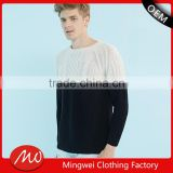 2017 mens knit round neck cashmere pullover sweater for wholesale