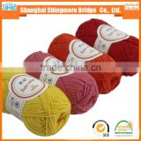 Online shopping knitting yarns china factory best price wholesale 60% cotton 40%acrylic blended yarn 1/1.5Nm combed cotton yarn