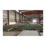 Roller conveyor steel plate shot blasting machine for Forging , Foudry , Casting Industry