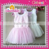 Wholesale cute baby girl chiffon tutu skirts Holiday Pettiskirt Top Sets Girl Tutu Skirts Suits