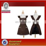 New arrived brown women cooking apron
