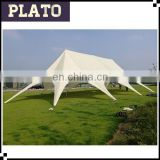outdoor white big high peak star tent used party/wedding marquee tent with factory price