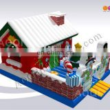 AOQI used hard-wearing quality big discount inflatable Xmas Party