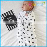 100% organic cotton muslin baby swaddle blanket wholesale
