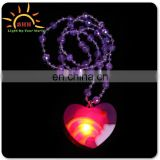 Color changing spinning led necklace beads