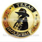 poker chips metal coins gifts souvenir coins colorful casino challenge/collection coin,Commemorative Token Poker coin