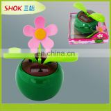 2016 Promotional gifts solar flower toy for kids from shenzhen