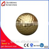 High quality gold LED golf ball for promotion