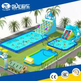 Factory price wholesale inflatable water park slides for sale