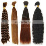 Youth Beauty Hair raw unprocessed 100% brazilian virgin hair bulk no chemical process full cuticle top quality hair