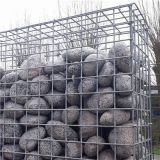 Welded wire mesh gabion basket
