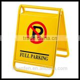 No Parking Sign with customized logal