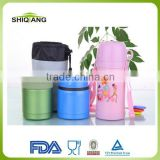Kids Lunch Box 500ml double wall stainless steel vacuum material can keep food hot and cold