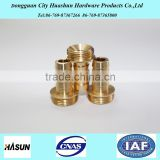 Brass hose nipple fitting, Quick Screw Hose Connector                                                                         Quality Choice