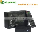 Hot selling Original Beelink X2 AIIWINNER H3 chipest Quad-core 1G/8G H.265 X2 android4.4 tv box 1080P 4K Set top box IPTV Box