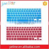 Colored anti dust soft Silicone computer keyboard films for Macbook/for HP                                                                                                         Supplier's Choice