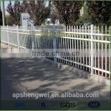 High security steel tube used wrought iron fencing