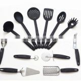 (DCNL-008) 6 Pieces Colorful Nylon Kitchen Utensil Set With Stainless Steel Kitchen Accessoris