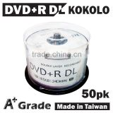 TAIWAN wholesale DVD+RDL Blank DVD9 Dual Layer 8.5GB