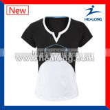 Hot Sales Sublimation Dry Fit Sportswear Tennis Shirt Jersey Wear Top