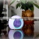 Digital Ball Desk Clock with 7 Multicolor Natural Sound and Natural Light