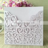 2016 light purple Hot-Selling Pocket Laser Cut Wedding Invitation Card,Wholesale wedding place card cover with envelope