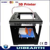 2015 Sale Black Prusa New Released Ly 3d Printer G-code Zero Full Metal With Touch Screen Control Highly Recommend