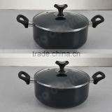 Aluminum New Design Casserole for Promotion Dishes Restaurant Home Ware Nice Cookware Casserole