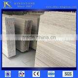 Manfacturer top quality chinese white wooden marble for high grade project use for Floor and Wall