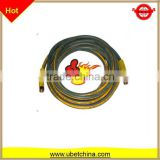 Alibaba with linen and PU surface for 580 washing / cleaning machine diameter 8 high pressure wire braided rubber hose