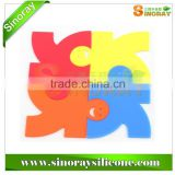 Silicone Jigsaw Puzzle Coaster from Ningbo                                                                         Quality Choice