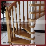 indoor prefabricated portable spiral stairs/staircase