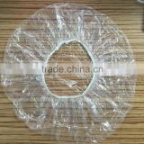 disposable PE plastic clear shower cap for hotel guest                                                                         Quality Choice                                                     Most Popular