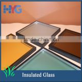 Bathroom coated tempered insulated window glass types